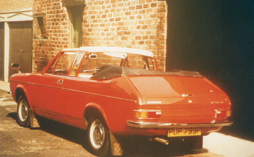 1976 Morris Marina Convertible For Sale (picture 2 of 6)