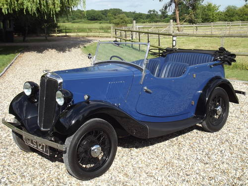 1935 Morris 8HP Series One Four Seater Tourer SOLD (picture 1 of 6)