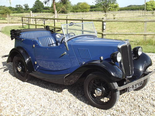 1935 Morris 8HP Series One Four Seater Tourer SOLD (picture 2 of 6)