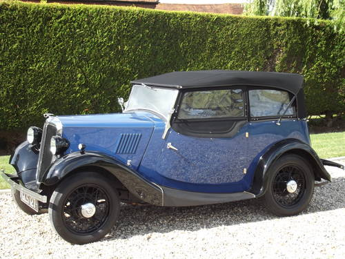 1935 Morris 8HP Series One Four Seater Tourer SOLD (picture 3 of 6)