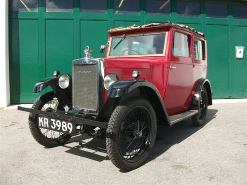 1930 OHC Morris Minor Saloon SOLD (picture 1 of 6)