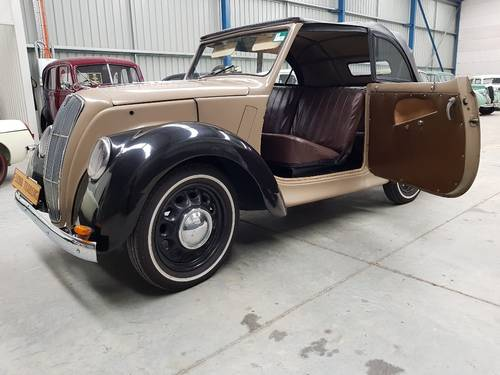 1948 Morris 8/40 Roadster By Firma Trading Australia SOLD (picture 2 of 6)