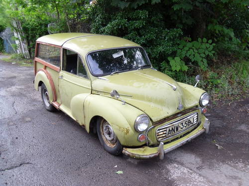 Morris Minor Traveller 1971 Breaking For Spares For Sale (picture 1 of 6)