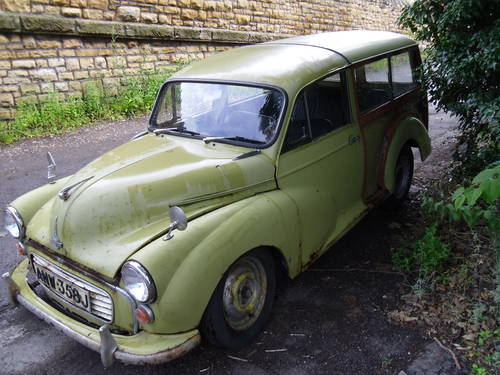 Morris Minor Traveller 1971 Breaking For Spares For Sale (picture 2 of 6)