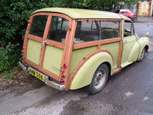 Morris Minor Traveller 1971 Breaking For Spares For Sale (picture 3 of 6)