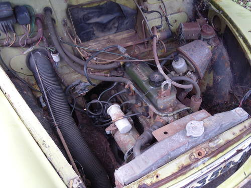 Morris Minor Traveller 1971 Breaking For Spares For Sale (picture 6 of 6)