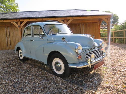1965 Morris Minor 1000 (Credit/Debit Cards & Delivery) SOLD (picture 1 of 6)