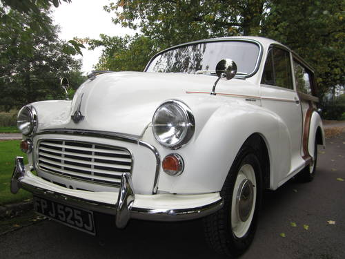 1971 MORRIS MINOR TRAVELLER  For Sale (picture 6 of 6)