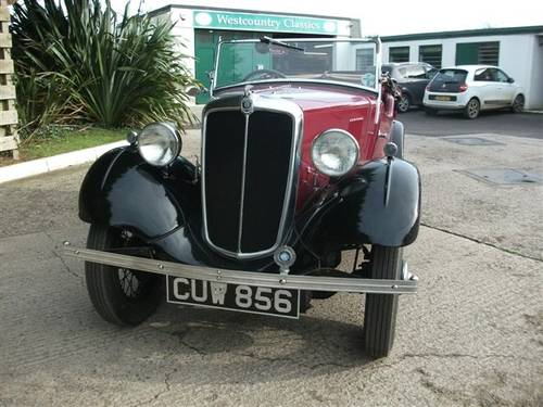 1936 Morris 8 Series 1 four seat Tourer SOLD (picture 1 of 6)