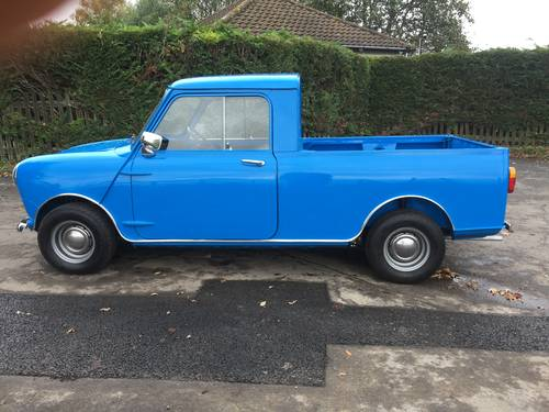 Austin/Morris Mini Pickup 1981 X Blue Superb £18,995 For Sale (picture 1 of 6)
