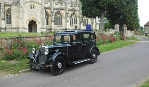 1934 Morris 10/4 Saloon to be sold on October 28th SOLD by Auction (picture 1 of 5)