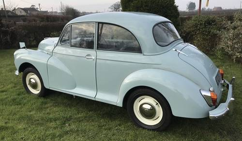 1969 Morris Minor 1000 Saloon to be sold on October 28th SOLD by Auction (picture 2 of 5)