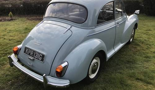 1969 Morris Minor 1000 Saloon to be sold on October 28th SOLD by Auction (picture 4 of 5)