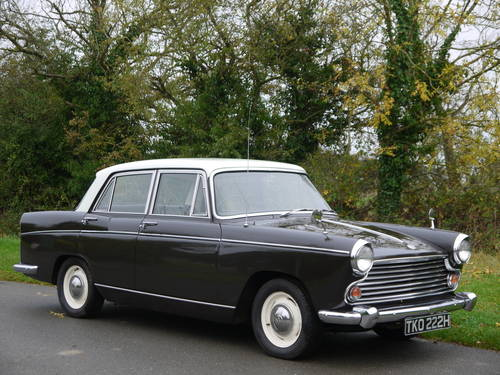 1970 MORRIS OXFORD MKV1 SALOON - EXCELLENT VALUE !! SOLD (picture 1 of 6)
