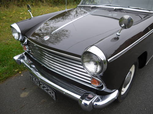 1970 MORRIS OXFORD MKV1 SALOON - EXCELLENT VALUE !! SOLD (picture 3 of 6)