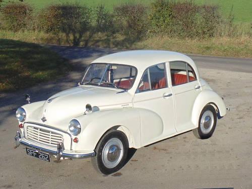 1956 Morris Minor Series II SOLD (picture 1 of 6)