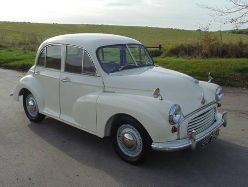1956 Morris Minor Series II SOLD (picture 2 of 6)