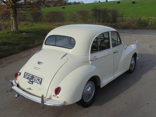 1956 Morris Minor Series II SOLD (picture 3 of 6)