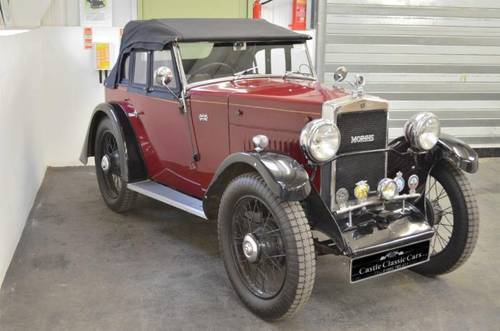 1931 Very rare Morris Minor Drop Head Coupe SOLD (picture 1 of 6)