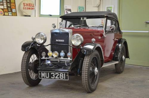 1931 Very rare Morris Minor Drop Head Coupe SOLD (picture 2 of 6)