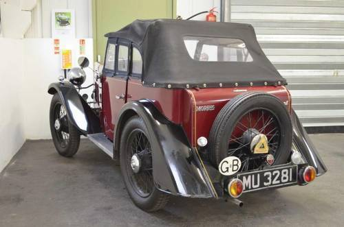 1931 Very rare Morris Minor Drop Head Coupe SOLD (picture 3 of 6)