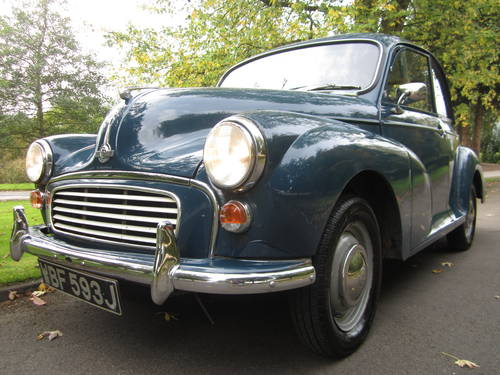 1971 MORRIS MINOR **SOLD ~ OTHERS WANTED 07739 329 389 ~ SOLD** For Sale (picture 1 of 6)
