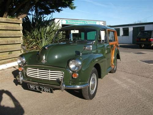 1970 Morris Traveller Ex Army Deep Bronze Green! SOLD (picture 1 of 6)