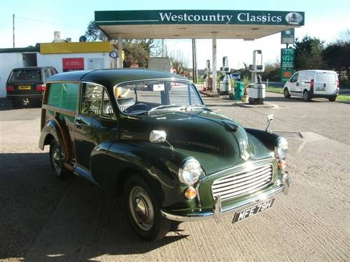 1970 Morris Traveller Ex Army Deep Bronze Green! SOLD (picture 2 of 6)