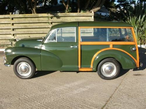 1970 Morris Traveller Ex Army Deep Bronze Green! SOLD (picture 3 of 6)