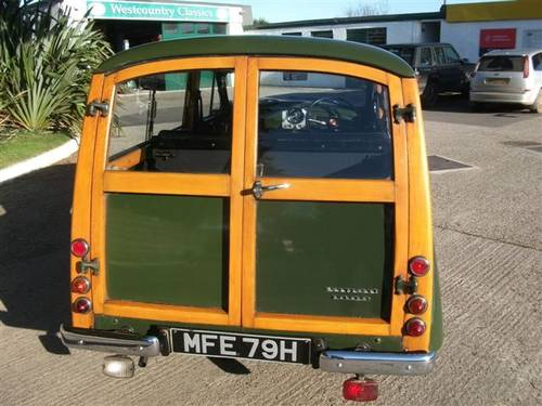 1970 Morris Traveller Ex Army Deep Bronze Green! SOLD (picture 6 of 6)