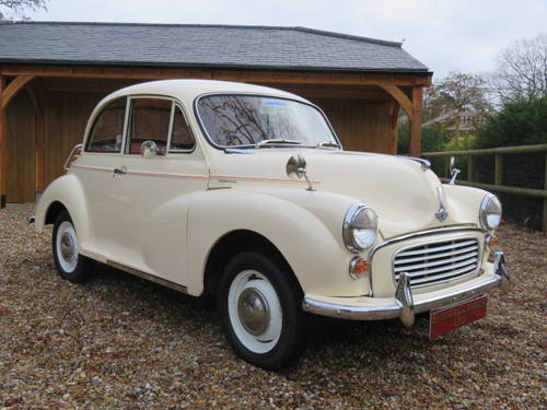 1966 Morris Minor 1000 (Credit/Debit Cards & Delivery) SOLD (picture 1 of 6)