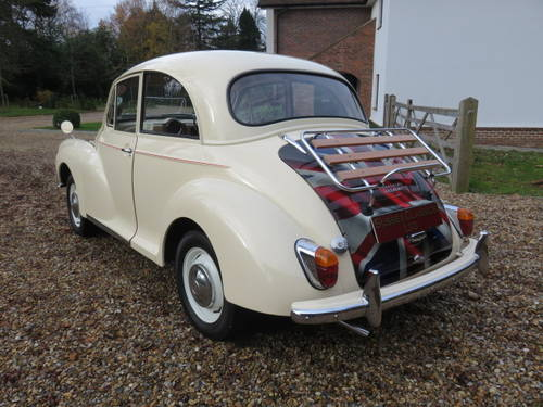 1966 Morris Minor 1000 (Credit/Debit Cards & Delivery) SOLD (picture 2 of 6)
