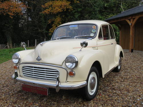 1966 Morris Minor 1000 (Credit/Debit Cards & Delivery) SOLD (picture 3 of 6)
