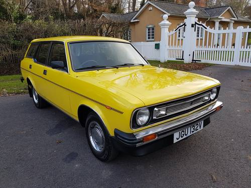 1980 Morris Marina Estate, Low Mileage, Beautiful Condition SOLD (picture 2 of 6)