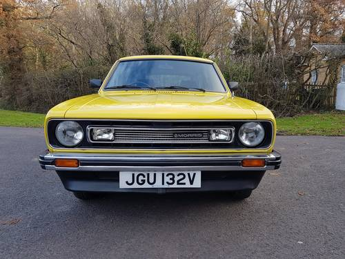 1980 Morris Marina Estate, Low Mileage, Beautiful Condition SOLD (picture 3 of 6)