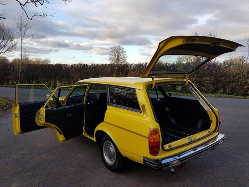 1980 Morris Marina Estate, Low Mileage, Beautiful Condition SOLD (picture 5 of 6)
