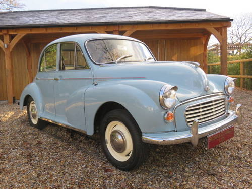 1969 Morris Minor 1000 (Credit/Debit Cards & Delivery) SOLD (picture 3 of 6)