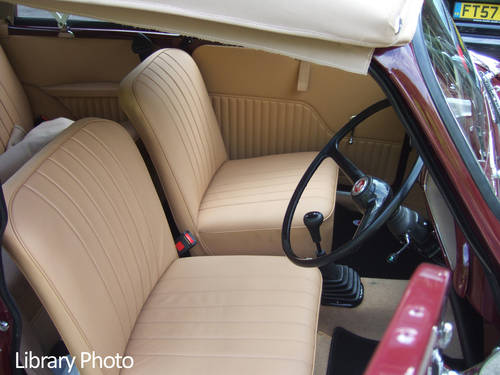 1967 Maroon Replica Convertible with Biscuit Trim For Sale (picture 2 of 6)