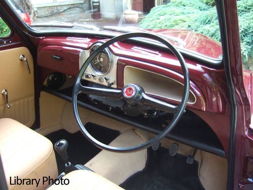 1967 Maroon Replica Convertible with Biscuit Trim For Sale (picture 3 of 6)