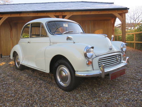 1970 Morris Minor 1000 (Credit/Debit Cards & Delivery) SOLD (picture 1 of 6)