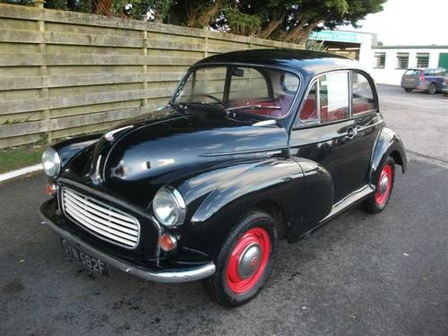 1968 Morris Minor 1275cc, twin carbs, disk brakes! SOLD (picture 1 of 6)