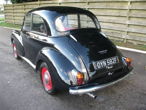 1968 Morris Minor 1275cc, twin carbs, disk brakes! SOLD (picture 2 of 6)