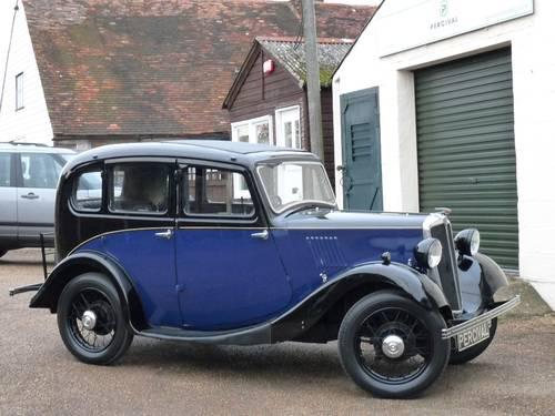 1937 Morris 8 Series 1 four door SOLD (picture 1 of 6)