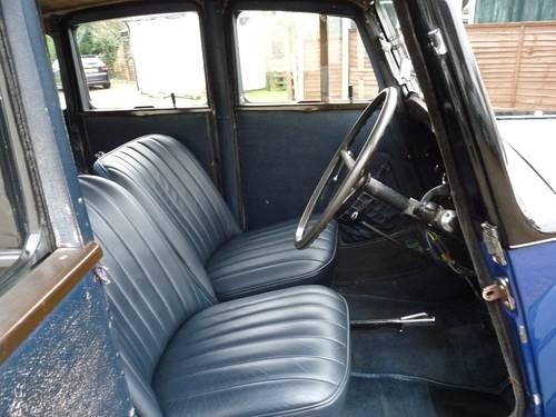 1937 Morris 8 Series 1 four door SOLD (picture 3 of 6)