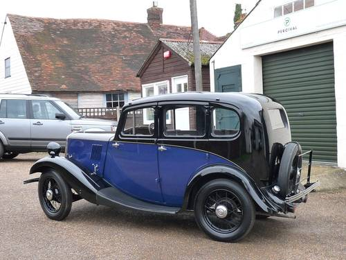 1937 Morris 8 Series 1 four door SOLD (picture 5 of 6)