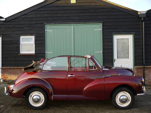 1966 MORRIS MINOR FACTORY TOURER - GREAT VALUE CONVERTIBLE !! SOLD (picture 3 of 6)