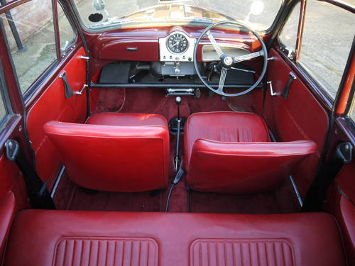 1966 MORRIS MINOR FACTORY TOURER - GREAT VALUE CONVERTIBLE !! SOLD (picture 4 of 6)