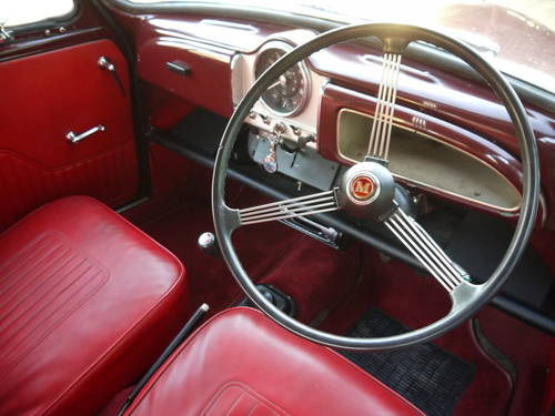 1966 MORRIS MINOR FACTORY TOURER - GREAT VALUE CONVERTIBLE !! SOLD (picture 5 of 6)