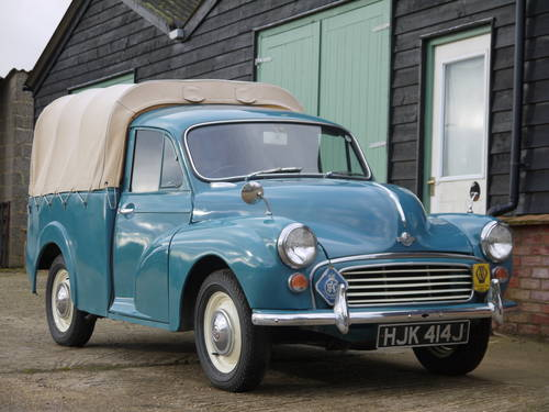 1970 MORRIS MINOR PICK-UP - EXCELLENT OLDER RESTORATION !! SOLD (picture 1 of 6)