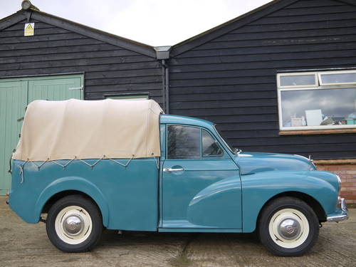 1970 MORRIS MINOR PICK-UP - EXCELLENT OLDER RESTORATION !! SOLD (picture 2 of 6)